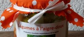 Légumes à l'aigre-doux 410g